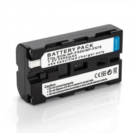 Batéria NP-F550, 2400mAh 7,4V pre LED svetla YN 300 II a YN 600