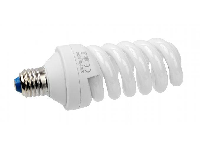 30W úsporná špirálová žiarovka E27 BRESSER