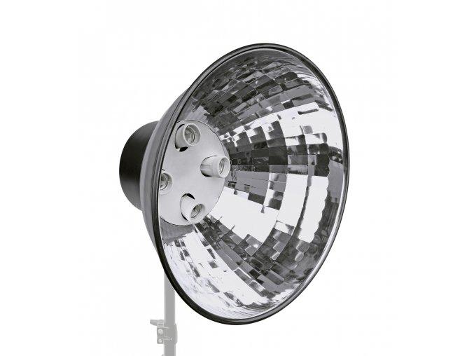 Držiak osvetlenia s reflektorom pre 4 špirálové svietidlá BRESSER MM-05