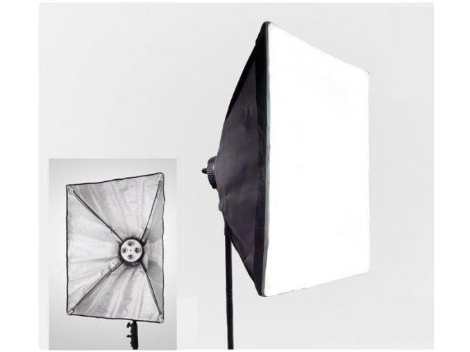 Softbox pre 4 špirálové žiarovky 50x70cm