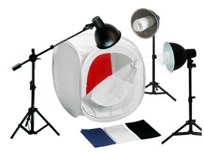 Set pre fotografovanie produktov 80x80X80cm BRESSER BR-2244