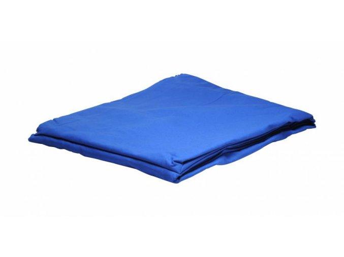 Textílne fotografické pozadie 2,5x3m, chromakey modrá Bresser