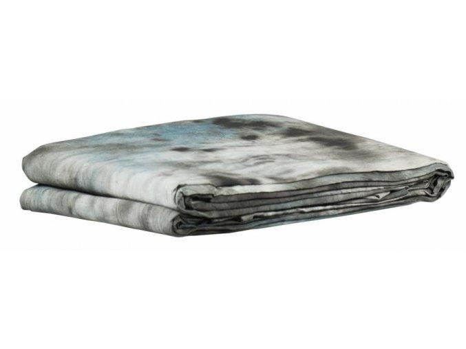 Textílne fotografické pozadie 3x6m, sivo-biela Bresser