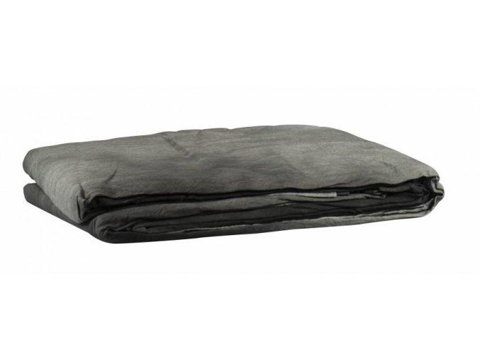 Textílne fotografické pozadie 3x6m, čierno-biela Bresser