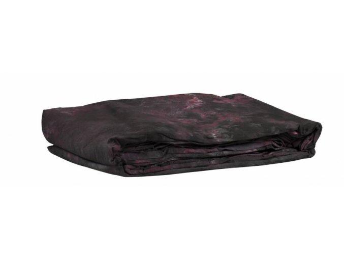Textílne fotografické pozadie 3x6m, červeno-čierna Bresser