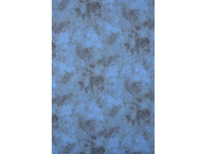 Textílne fotografické pozadie 3x6m, modro-čierna Bresser