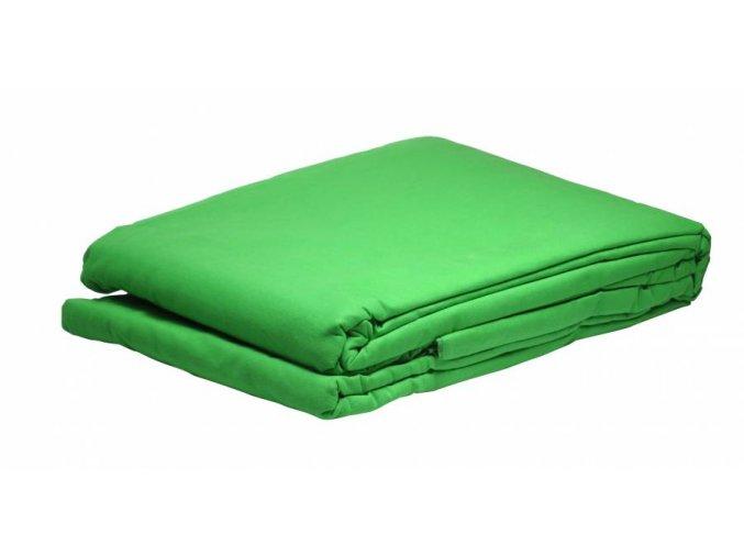 Textílne fotografické pozadie 4x6m, chromakey zelená Bresser