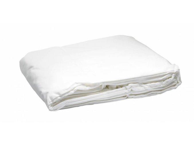 Textílne fotografické pozadie 4x6m, biele Bresser