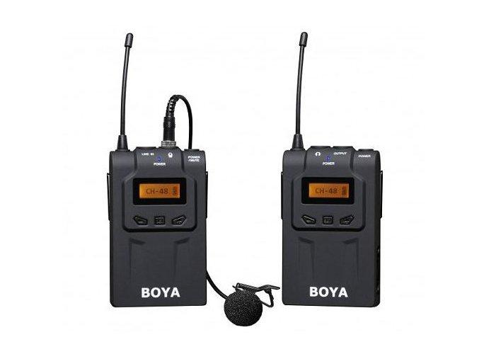 Súprava: mikrofón s klipom + vysielač + prijímač BOYA BY-WM6