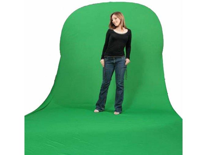 Prenosné fotopozadie 150x200 + 200cm, kľučovacia (chromakey) zelená, Bresser