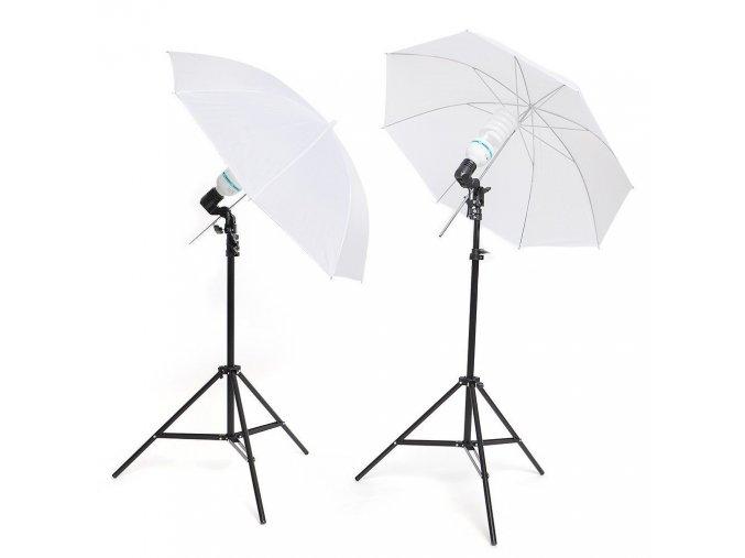 Set trvalých svetiel - dáždnikov 400W + 400W