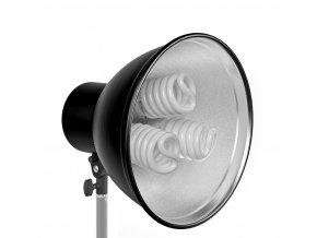 Držiak osvetlenia 31 cm pre 3 žiarovky  BRESSER MM-12