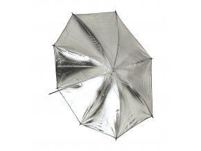 Reflexný dáždnik zlatý / strieborný meniteľný 119cm BRESSER SM-13