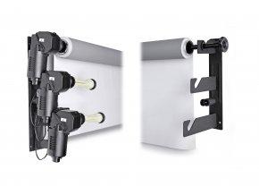 Elektrický nástenný držiak pre 3 pozadia BRESSER MB-3Y