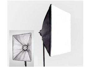 Softbox pre 4 špirálové žiarovky 60x90cm