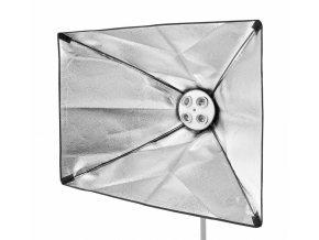 Softbox 60x90 cm pre 4 špirálové žiarovky BRESSER SS-19