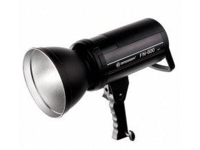 Štúdiový blesk BRESSER FN-600 s TTL funkciou pre Canon + batérie