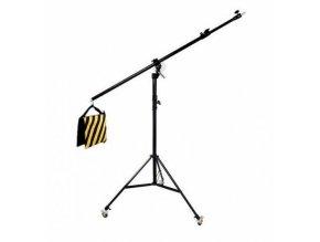 Stojan na štúdiové svetlo s otočným ramenom a kolieskami BRESSER BR-LB300