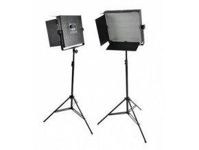 Štúdiový set foto-video LED 2x LS-900 54W/8.860LUX + 2x statív BRESSER