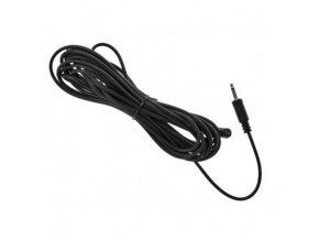 Synchronizačný kábel s PC konektorom (3,5 mm), dĺžka 5 m