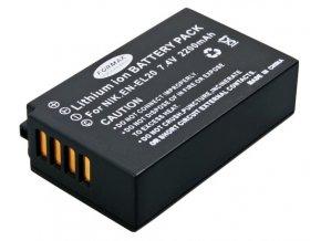 Batéria EN-EL20 s kapacitou 2200 mAh pre fotoaparáty Nikon 1 J1, J2 J3 A1, Coolpix A