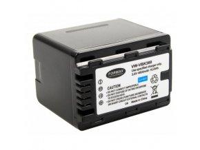 Batéria VW-VBK360 s kapacitou 4600 mAh pre fotoaparáty Panasonic HDC-SDX1, HDC-SD60