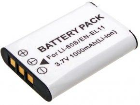 Náhrada batérie EN-EL11 pre fotoaparáty Nikon