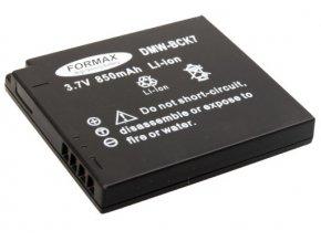 Batéria DMW-BCK7E s kapacitou 850 mAh pre fotoaparáty Panasonic Lumix: DMC-FH2, DMC-FH2A, DMC-FH2K