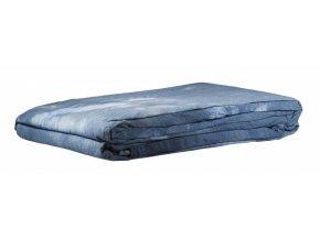 Textílne fotografické pozadie 3x6m, modro-biela Bresser