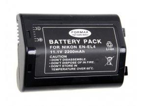 Batéria EN-EL4 s kapacitou 2200 mAh pre fotoaparáty Nikon D2, D2H, D2HS, D2X