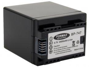 Batéria BP-747 pre fotoaparáty Canon (CHIP) 4400mAh