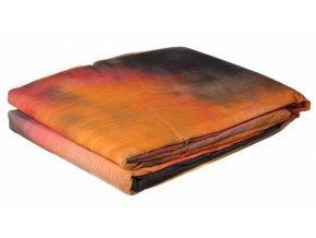 Textílne fotografické pozadie 3x6m, čierno-červené Bresser