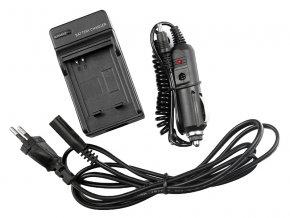 Nabíjačka pre batérie Minolta NP-500, NP-600