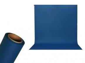 Papierové foto pozadie 1,36 x 5,5m modré