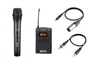 Súprava: mikrofón + prijímač BOYA WM6-K2