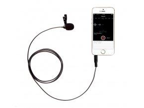 Stereo kondenzátorový mikrofón s klipom pre Android smartfóny a iPhone BOYA BY-LM10