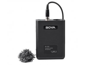 Kardioidný klopový mikrofón BOYA BY-F8C