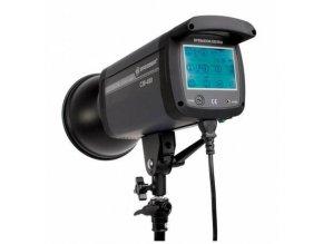 Štúdiový blesk s dotykovou obrazovkou BRESSER CM-400
