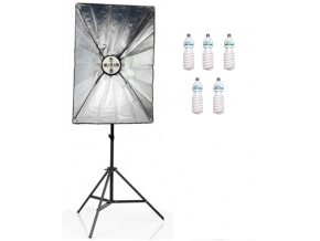 Daylight Set 1600W DS6 60x90cm+žiarivky+stojan
