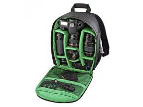 Fotografický batoh pre fotoaparáty a fotografické zariadenie