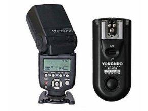 Externý blesk YONGNUO YN560-III Speedlite GN58 s odpaľovačom RF-603 pre Nikon