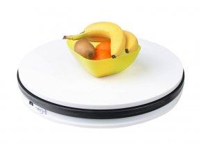 Profesionálny rotačný fotografický stôl 60 cm, 360 stupňov