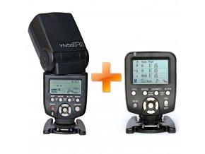 Blesk Yongnuo YN560 III s riadiacou jednotkou YN560 TX pre Canon