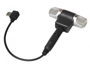 Stereofónny mikrofón s konektorom mini jack 3,5mm Massa