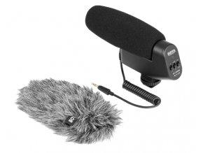 Kondenzátorový mikrofón typu brokovnica Boya BY-VM600