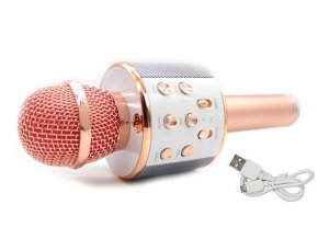Karaoke mikrofón so zabudovaným reproduktorom LineComp Q9