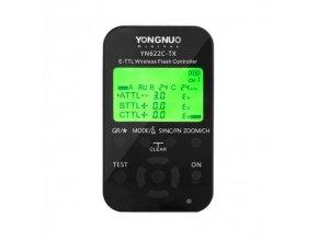Riadiaca jednotka pre odpaľovače YN622C-TX Canon s iTTL Yongnuo