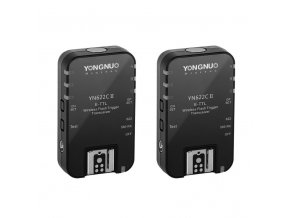 Bezdrôtový rádiový odpaľovač Yongnuo YN-622C II  - set 2x prijímač/vysielač do Canon e-TTL