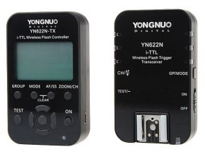 Riadiaca sada Yongnuo YN-622 N-KIT do Nikon i-TTL
