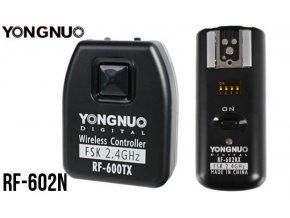 Sada odpaľovačov blesku Yongnuo RF-602N pre Nikon